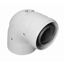 Инспектируемый коаксиальный отвод 90°, диам. 60/100 мм Baxi (KHG71410411)
